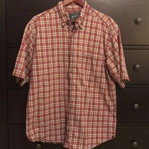 Men's Woolrich Plaid Button Down Shirt - Size L